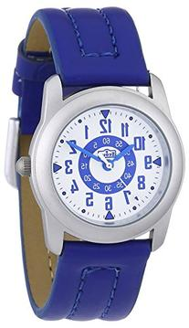 Scout 280376001 Boys' Analog Quartz Watch with Blue Leather