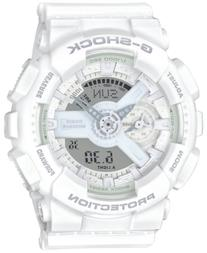 G-Shock Women's Analog-Digital Whiteout White Bracelet Watch