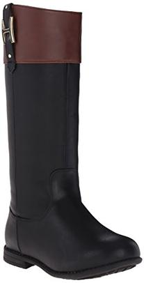 Tommy Hilfiger Kids Andrea H Charm Riding Boot ,Black,5 M US