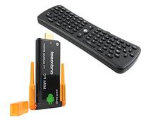 Android TV Dongle with Air Mouse Keyboard Remote, ANDROSET