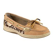 Sperry Top-Sider Women's Angelfish Shimmer Boat Shoe, Linen/
