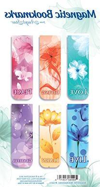 Angelstar 72471 Inspirational Magnetic Bookmark Set of 6, 2-