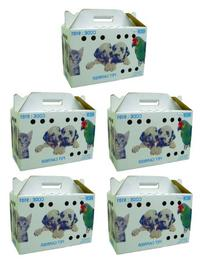 YML Travel Box for Small Animals, Lot of 5