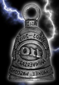 GUARDIAN BELL 110th ANNIVERSARY Harley Davidson gremlin