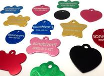 Anodized Pet ID Tags - Choose from Bone, Round, Heart,
