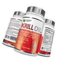 Abundant Health Pure Antarctic Krill Oil with Astaxanthin
