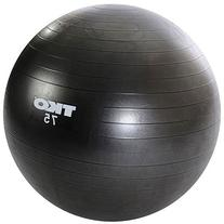 TKO Anti-Burst Fitness Ball  with Pump and Instruction Chart