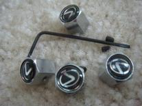 4 PCS Anti-theft Tire AIR Valve Stems Caps for Lexus