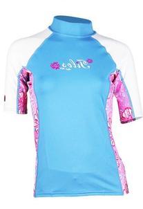 Tilos Womens 6oz. Anti-UV Short-Sleeved Rashguard