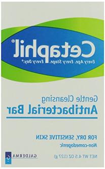 Cetaphil Antibacterial Gentle Cleansing Bar -- 4.5 oz