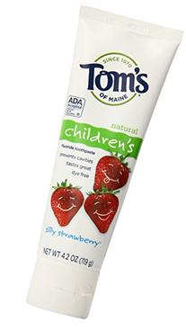 Tom's of Maine Anticavity Fluoride Children's Toothpaste,