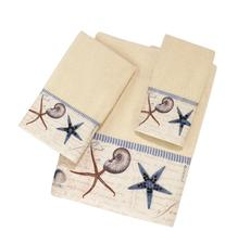 Avanti Linens Antigua 4-Piece Towel Set, Includes 1 Bath, 1