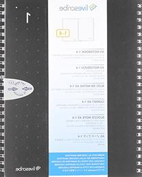 Livescribe ANX-00003-00 A5 Single Subject Notebooks