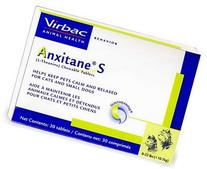 Virbac Anxitane Tablets, Small Dog/Cat, 50mg, 30 Count