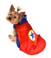 Anit Accessories AP1090-M Superhero Dog Costume, Red