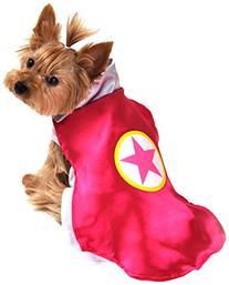 Anit Accessories AP1092-L Superhero Dog Costume, Pink