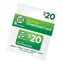 LeapFrog App Center $20 Digital Download Card