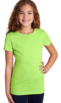 Next Level Apparel 3712 The Princess Girls T-Shirt, Neon