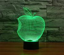 LOTOS® Apple 3D Abstract Visual 7 Kinds of Colors Change
