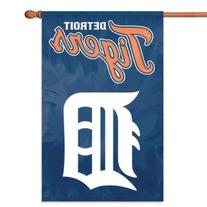 Detroit Tigers Official MLB 44 inch x 28 inch Banner Flag by