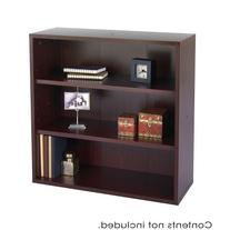 Apres Modular Storage Open Bookcase Finish: Mahogany