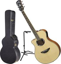 Yamaha APX500III NT Thinline Body Acoustic Electric Guitar