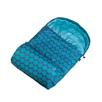 Wildkin Aqua Big Dot Stay Warm Sleeping Bag