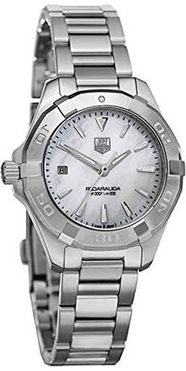 Tag Heuer Aquaracer White Mother of Pearl Dial Steel Ladies