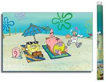 Penn-Plax SpongeBob Squarepants Beach Aquarium Background