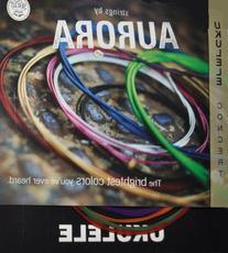 Aquila Mulit-Colored Concert Ukulele string by Aurora