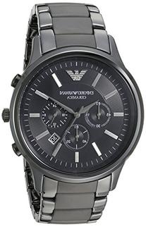 Emporio Armani AR1451 Black Ceramica Mens Watch