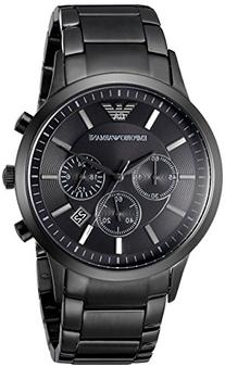 Emporio Armani Men's AR2453 Dress Black Mesh Watch