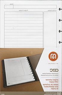 Staples Arc Notebook Project Planner Filler Paper, Junior-