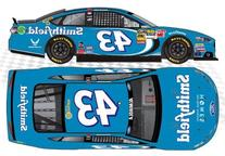 NASCAR Aric Almirola #43 Smithfield Blue 1/64 Kids Hardtop