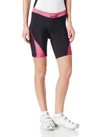 Canari Cyclewear Women's Arista Shorts, Panther Pink, X-