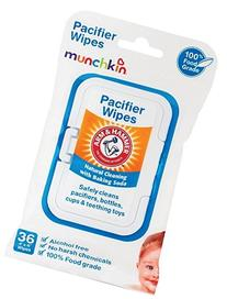 Munchkin Arm & Hammer Pacifier Wipes - 4 Packs of 36 Wipes