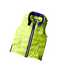 Armani Junior - Puffer Vest with Blue Trim   Boy's Vest