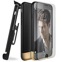 Encased Armor SHIELD Case and Clip for iPhone 6 - Black/Gold
