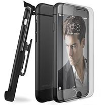 Encased ArmorSHIELD Slim Case with Clip and Tempered Glass
