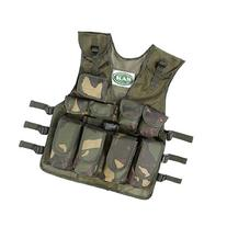 Kids Army Camouflage Combat Vest - Fits Ages 5-13 Yrs by KAS