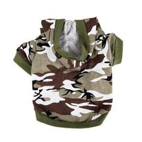 Urparcel Army Green Camouflage Hoodie Pet Dog Clothes Camo