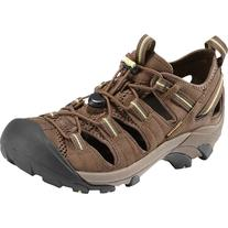 KEEN Women's Arroyo II Hiking Sandal,Chocolate Chip/Sap