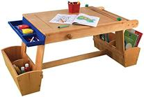 KidKraft Art Table with Drying Rack and Storage