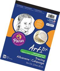 Pacon Art1st Tracing Paper Pad, 9 x 12 Inches, 50 Sheets
