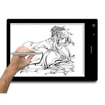 Huion A4 LED Light Pad Tracing Light Box Adjustable