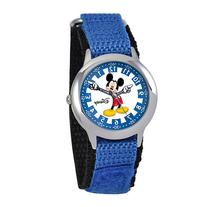 Disney Articulating Mickey Mouse Kids Time Teacher Blue