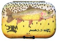 MFC Currier Plastic Fly Box, Snake River Cutty