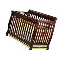 Ashton Convertible Crib, Cherry