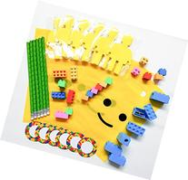 Pre-Assembled 54 Piece Building Blocks  Theme Favors with