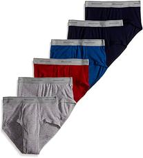 Fruit of the Loom Men's Assorted Color Fashion Briefs, 6-